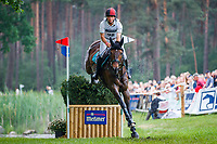 AUS-Kevin McNab rides Scuderia 1918 A Best Friend during the Cross Country for the Meßmer Trophy mit Deutscher Meisterschaft CCI4*-S. Interim-11th. The Longines Luhmuehlen International Horse Trials. Salzhausen, Germany. Saturday 15 June. Copyright Photo: Libby Law Photography