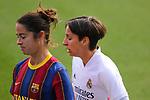 Liga IBERDROLA 2020-2021. Jornada: 18.<br /> FC Barcelona vs R. Madrid: 4-1.<br /> Marta Torrejon & Marta Corredera.