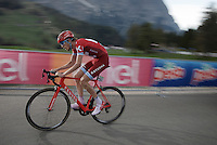 Ilnur Zakarin (RUS/Katusha)<br /> <br /> stage 15 (iTT): Castelrotto-Alpe di Siusi 10.8km<br /> 99th Giro d'Italia 2016