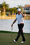 PALM BEACH GARDENS, FL. - Will MacKenzie waves to the gallery during Round Three play at the 2009 Honda Classic - PGA National Resort and Spa in Palm Beach Gardens, FL. on March 7, 2009.