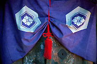 Detail of cloth in Japanese shrine