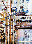 Steam geneator,steam turbine, Seattle, WA, Georgetown Steam Plant, a National Historic Landmark in Seattle, WA USA