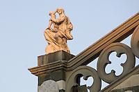Dettaglio esterno del Duomo di Prato.<br /> Exterior detail of the Cathedral of Prato.<br /> UPDATE IMAGES PRESS/Riccardo De Luca