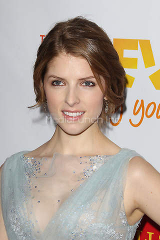LOS ANGELES, CA - DECEMBER 02: Anna Kendrick at 'Trevor Live' honoring Katy Perry and Audi of America for The Trevor Project held at The Hollywood Palladium on December 2, 2012 in Los Angeles, California. Credit: mpi21/MediaPunch Inc.