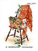 GIORDANO, CHRISTMAS ANIMALS, WEIHNACHTEN TIERE, NAVIDAD ANIMALES, paintings+++++,USGI1977,#XA#