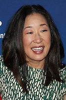 """HOLLYWOOD, LOS ANGELES, CA, USA - APRIL 29: Sandra Oh at the Los Angeles Premiere Of TriStar Pictures' """"Mom's Night Out"""" held at the TCL Chinese Theatre IMAX on April 29, 2014 in Hollywood, Los Angeles, California, United States. (Photo by Xavier Collin/Celebrity Monitor)"""