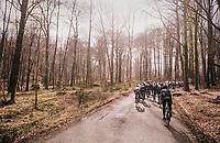 into the woods<br /> <br /> 50th GP Samyn 2018<br /> Quaregnon > Dour: 200km (BELGIUM)