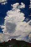 Monsoon Sky over Little Park, near Sedona, Arizona