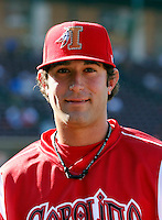 Eric Berger ---  At the annual California League-Carolina League all-star game at the Diamond in Lake Elsinore, CA - 06/23/2009. The game was won by the California League, 2-1, on a walk-off homerun by Lancaster's Jon Gaston..Photo by:  Bill Mitchell/Four Seam Images