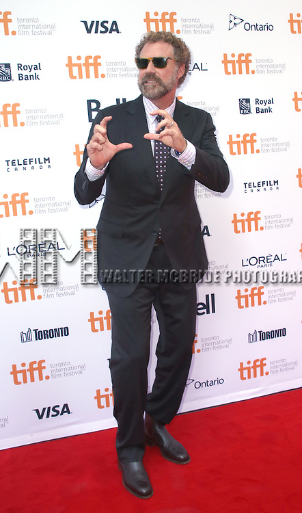 Will Ferrell attends the 'Welcome To Me' premiere during the 2014 Toronto International Film Festival at Princess of Wales Theatre on September 5, 2014 in Toronto, Canada.
