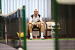 SHANGHAI, CHINA - OCTOBER 13:  Andreas Seppi of Italy sits on the bench during his match against Marin Cilic of Croatia during day three of the 2010 Shanghai Rolex Masters at the Shanghai Qi Zhong Tennis Center on October 13, 2010 in Shanghai, China.  (Photo by Victor Fraile/The Power of Sport Images) *** Local Caption *** Andreas Seppi