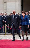 Paris (75)- Palais de l'Elysee- Ceremonie d installation de M. Emmanuel MACRON, PrÈsident de la RÈpublique, le dimanche 14 mai , Laurent Fabius