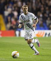 Kieran Trippier of Tottenham Hotspur in action during the UEFA Europa League match between Tottenham Hotspur and Qarabag FK at White Hart Lane, London, England on 17 September 2015. Photo by Andy Rowland.