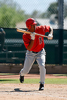 Carlos Colmenares - Los Angeles Angels - 2009 spring training.Photo by:  Bill Mitchell/Four Seam Images