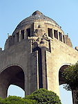 The Arch of the Revolution (Monumento a la Revolución), which is located on Avenida Juarez in Mexico City, was built between 1932 and 1938 to commemorate the revolutionary period of 1917 to 1929. It was designed by the architect Carlos Obregón Santacilia and the sculptor Oliverio Martinez on the old grounds of the Legislative Palace which was never built because of the outbreak of the revolution.