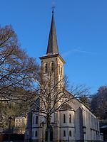 St. Kunigunde in Clausen, Luxemburg-City, Luxemburg, Europa<br /> St. Kunigunde in Clausen, , European Center, Luxembourg City, Europe