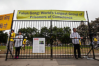 15.07.2015 - Falun Gong Demonstration in Parliament Square
