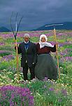 Farmers, Eastern Taurus Mountains, Turkey