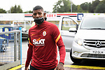 Galatasaray's Patrick van Aanholt arrives at McDiarmid Park ahead of tonight's training session before facing St Johnstone in tomorrow nights Europa League qualifier second leg....11.08.21<br /><br />Picture by Graeme Hart.<br />Copyright Perthshire Picture Agency<br />Tel: 01738 623350  Mobile: 07990 594431