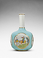 BNPS.co.uk (01202 558833)<br /> Pic: Sotheby's/BNPS<br /> <br /> Pictured: A rare Meissen Augustus Rex vase has sold for £458,000.<br /> <br /> A stunning collection of German porcelain that was found by the so-called Monuments Men before it could be destroyed by the Nazis has sold 76 years later for over £10m.<br /> <br /> The hoard of Meissen antiques that was seized by the Third Reich during the Second World War was discovered in a salt mine in Austria in 1945.<br /> <br /> It had been amassed years earlier by German-Jewish industrialist Dr Franz Oppenheimer and his wife Margarethe.