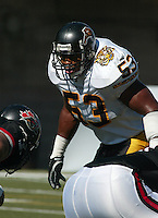 Joe Montford HamiltonTiger Cats. Copyright photograph Scott Grant/