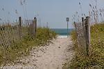 Beach scene, Wrightsville Beach, New Hanover County, NC