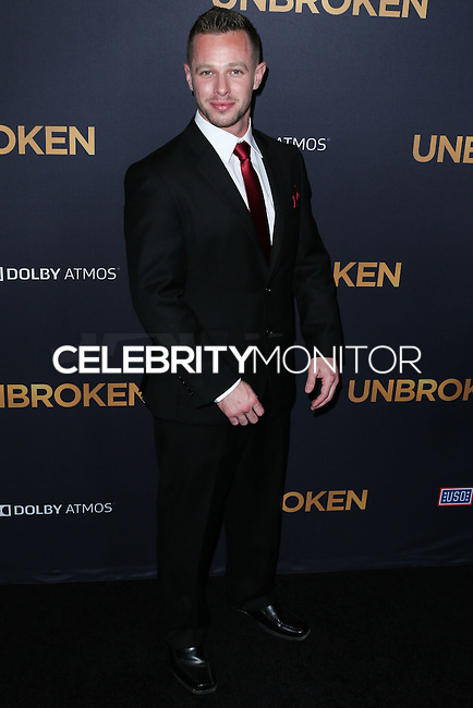 HOLLYWOOD, LOS ANGELES, CA, USA - DECEMBER 15: Ryan Ahern arrives at the Los Angeles Premiere Of Universal Pictures' 'Unbroken' held at the Dolby Theatre on December 15, 2014 in Hollywood, Los Angeles, California, United States. (Photo by Xavier Collin/Celebrity Monitor)