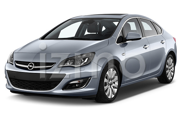 Front three quarter view of a 2013 opel astra cosmo sedan2013 opel astra cosmo sedan