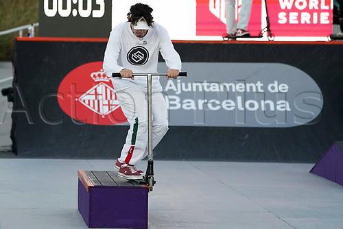 8th November 2020; Parc del Forum, Barcelona, Catalonia, Spain; Imagin Extreme Barcelona;  Remi Flipo (FRA) during Scooter mens street semifinal