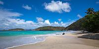 Cinnamon Bay (post hurricane)<br /> Virgin Islands National Park<br /> St. John<br /> US Virgin Islands