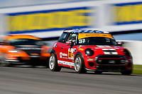 IMSA Continental Tire SportsCar Challenge<br /> Mobil 1 SportsCar Grand Prix<br /> Canadian Tire Motorsport Park<br /> Bowmanville, ON CAN<br /> Saturday 8 July 2017<br /> 37, MINI, MINI JCW, ST, Mike LaMarra, James Vance<br /> World Copyright: Scott R LePage/LAT Images