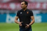 10th February 2021; Beira-Rio Stadium, Porto Alegre, Brazil; Brazilian Serie A, Internacional versus Sport Recife; Sport Recife manager Jair Ventura