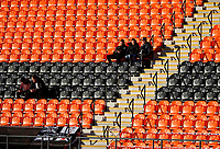 Grimsby Town FC fans arriving early during the Sky Bet League 2 match between Barnet and Grimsby Town at The Hive, London, England on 25 November 2017. Photo by Carlton Myrie.
