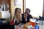 Fona Crockett and Bryan Smith<br /> Trapp Barr, Grand Targhee, Wyoming
