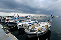 Fishing boats, Costa Brava, Spain, Mediterranean, Atlantic Ocean