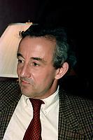 FILE PHOTO -  Louis Malle, le 30 novembre 1987<br /> <br /> PHOTO :   Agence quebec Presse