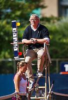 September 03, 2014,Netherlands, Alphen aan den Rijn, TEAN International, Umpire in chair<br /> Photo: Tennisimages/Henk Koster