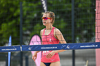 27th June 2020, Dusseldorf, Germany; The German Beach Volleyball League;  Svenja Mueller