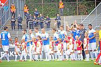 SV Darmstadt 98 begrüßt die Fans - SV Darmstadt 98 vs. SV Sandhausen, Stadion am Boellenfalltor