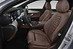 Front seat view of a 2018 Mercedes Benz E Class Business Solution 4 Door Sedan front seat car photos