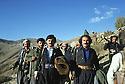 Iran 1979.Peshmergas on their way to the headquarters of KDPI, in front Nabi Qadri and Rahman Haji Ahmadi  Iran 1979  Peshmergas du PDKI en route pour le quartier general du PDKI, devant Nabi Qadri et Rahman Haji Ahmadi