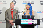 Nicki Minaj and Pitbull at The 2011 American Music Awards Nomination Announcements  held at JW Marriott Los Angeles at L.A. LIVE Gold Ballroom Salon 3 in Los Angeles, California on October 11,2011                                                                               © 2011 DVS / Hollywood Press Agency