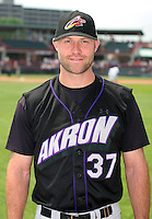 Akron Aeros Kevin Kouzmanoff poses for a photo before an Eastern League game at Jerry Uht Park on June 29, 2006 in Erie, Pennsylvania.  (Mike Janes/Four Seam Images)