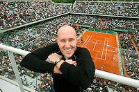 28-5-09, France, Paris, Tennis, Roland Garros, Olivier R. van Lindonk, Vice President IMG Tennis