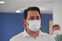 CAMPO LARGO, PR 29.03.2021:Mais 52 leitos de UTI - PR-- O Governador Ratinho JR com o secretario de saude do Parana Beto Preto entregou mais 52 novos leitos para UTI destinados ao covid-19, no hospital do Rocio em Campo Largo nessa segunda feira ( 29).