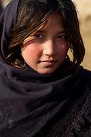 Young girl of Qalin Bafan Returnee Site.
