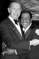 Sammy Davis Jr. Milton Berle 1985<br /> Photo by Adam Scull/PHOTOlink