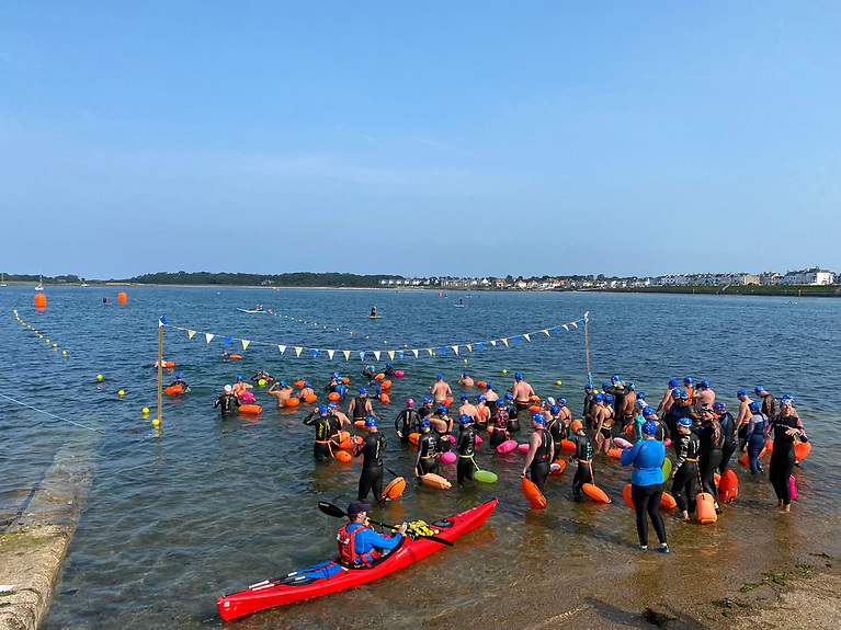 Ballyholme's Big Swim