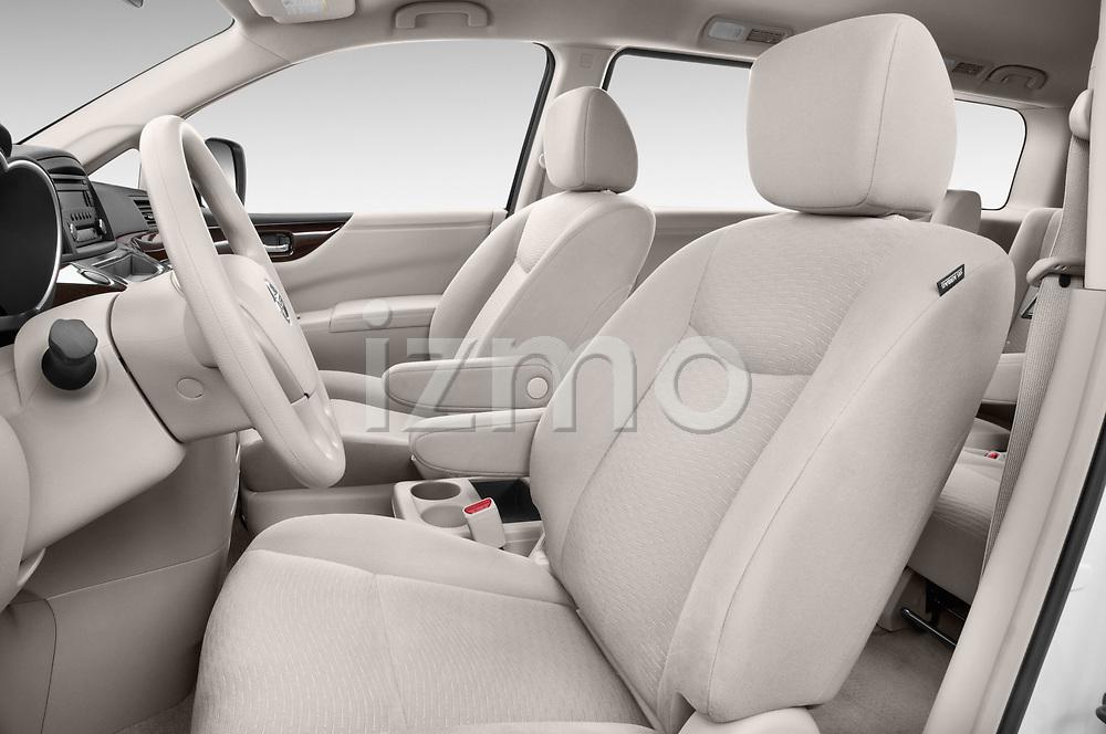 Front seat view of 2017 Nissan Quest S 5 Door Minivan Front Seat  car photos