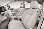 Front seat view of 2017 Nissan Quest S 5 Door Minivan Front Seat  car photos
